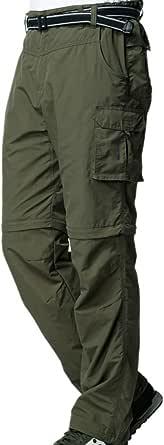 Jessie Kidden Mens Hiking Cargo Trousers Convertible Quick Dry Lightweight Zip Off Outdoor Fishing Travel Safari Walking Pants