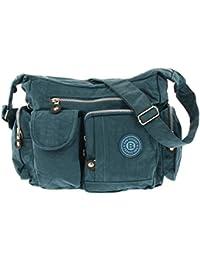 Bag Street Sac bandoulière Bodybag en nylon Bleu