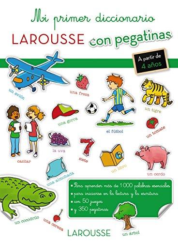 Mi primer diccionario con pegatinas (Larousse - Infantil / Juvenil - Castellano...