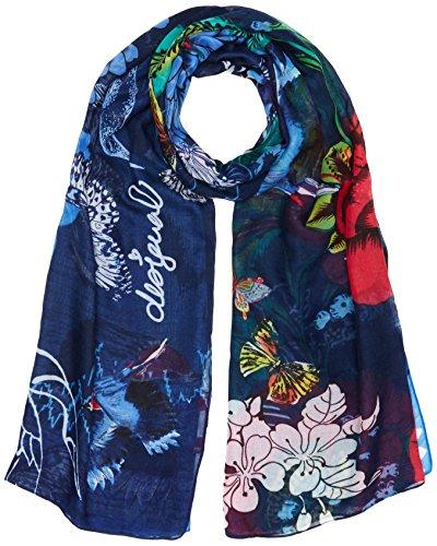 desigual-foulard-rectangle-boho-mix-echarpe-femme-bleu-estate-blue-5016-taille-unique-taille-fabrica