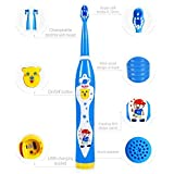 Kids Electric Toothbrush,WOPOW 064 Porta...