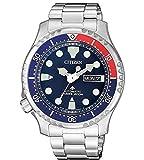 Citizen Promaster Diver 200 m automático NY0086-83L Reloj de Hombre Azul Rojo