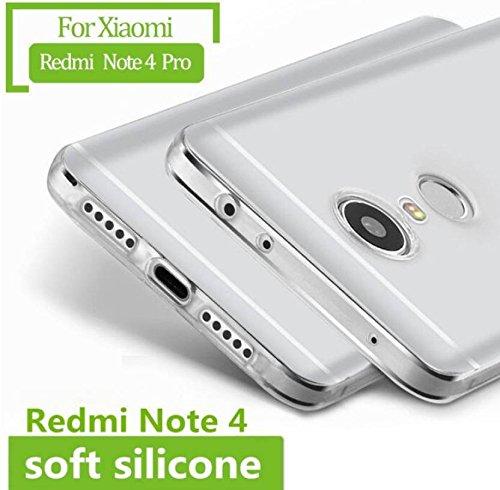 best cheap dc961 1a8c5 Chevron Xiaomi Redmi Note 4 Back Cover Case [Transparent]