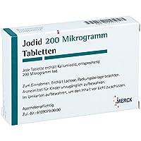 Jodid Merck 200 µg Tabletten, 100 St. preisvergleich bei billige-tabletten.eu