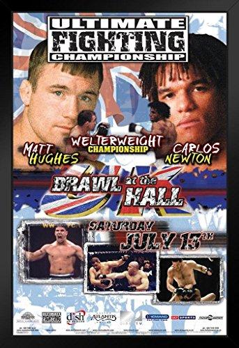 Pyramid America UFC 38 Matt Hughes vs Carlos Newton Sports 14x20 inches Gerahmtes Poster -