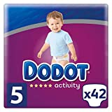 Dodot Activity Pañales para Bebé, Talla 5 - 42 pañales