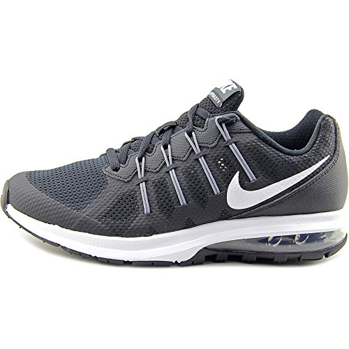 Nike Air Max Dynasty MSL Toile Chaussure de Course Black- WHite-Cool Grey- Anthrct