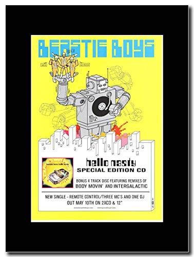Beastie Boys-Hello Nasty edizione speciale Magazine Promo su un supporto, colore: nero
