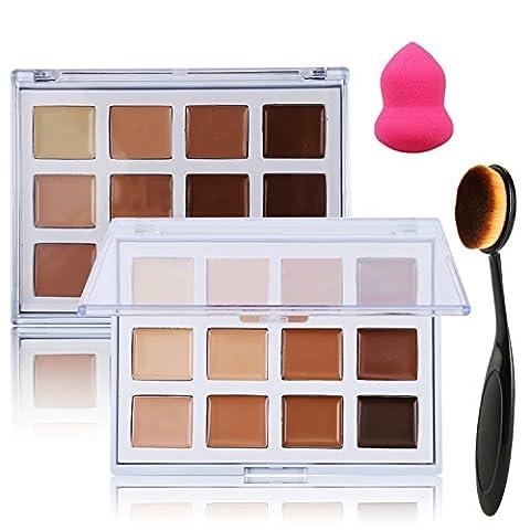 Lover Bar 12couleurs maquillage correcteur Palette +