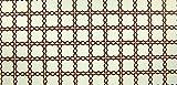 24x12 cm. (203,45EUR/m²) Bodenfliesen für 1:12 Puppenhaus, weiß mit schwarz-rote Rand.