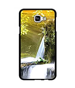 Crazymonk Premium Digital Printed Back Cover For Samsung Galaxy A9
