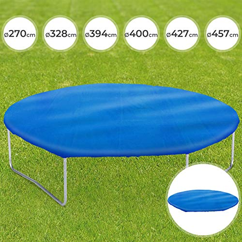Zubehör für Trampolin - in verschiedenen Durchmesser: Ø 270-457cm - Abdeckplane, Leiter, Sicherheitsnetz, Randabdeckung - Outdoor, Jumper, Gartentrampolin, Kindertrampolin, Accessories, Equipment