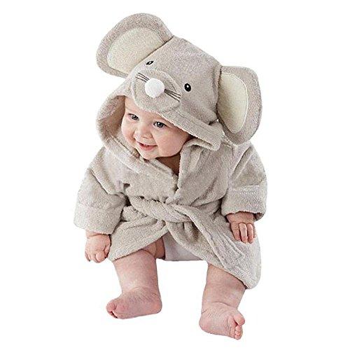 Bebé albornoz de tiburón, AOLVO algodón suave