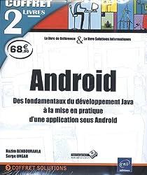 Android - Coffret de 2 livres - Des fondamentaux du développement Java à la mise en pratique d'une application sous Android