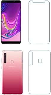iKare Sajni Creations Front and Back Tempered Fibre Unbreakable Screen Guard Protector for Samsung Galaxy A9