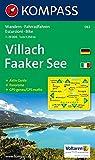 Carta escursionistica n. 062. Austria. Carinzia. Villach, Faaker See 1:25.000. Con carta panoramica. Adatto a GPS. DVD-ROM digital map. Ediz. bilingue: Wandelkaart 1:25 000