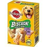 Pedigree Biscrok Hundesnacks 3 köstlichen Geschmacksrichtungen, 6 Packungen (6 x 500 g)