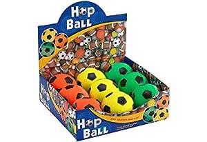 GLOBO, Pelotas de fútbol cm9 diametro 3col Neon 9 Piezas d/Box (37657), Multicolor (1)