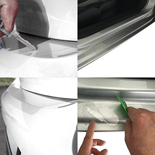 Tuneon Folienset transparent für Ladekanten & Einstiegsleisten für Golf 5 Variant