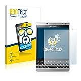 brotect Blackberry Passport Silver Edition Schutzfolie Displayschutzfolie [2er Pack] Folie Displayfolie Klar