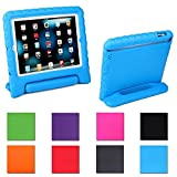 Aken Multi Function Child / Shock Proof Kids Cover Case with Stand / Handle for Apple iPad 2nd / 3rd / 4th Generation Tablet (iPad 2/3/4? (Blue)