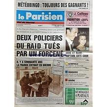 PARISIEN VAL DE MARNE (LE) [No 13989] du 01/09/1989 - 2 POLICIER DU RAID TUES PAR UN FORCENE A RIS-ORANGIS - IL Y A 50 ANS LA FRANCE ENTRAIT EN GUERRE - COCAINE / LA DROGUE ARRIVE EN FRANCE - ALFORTVILLE / ENQUETE - ANMALERIE - LA PRINCESSE ANNE ET LE CAPITAINE PHILIPS MARK / RUPTURE COTE COUR