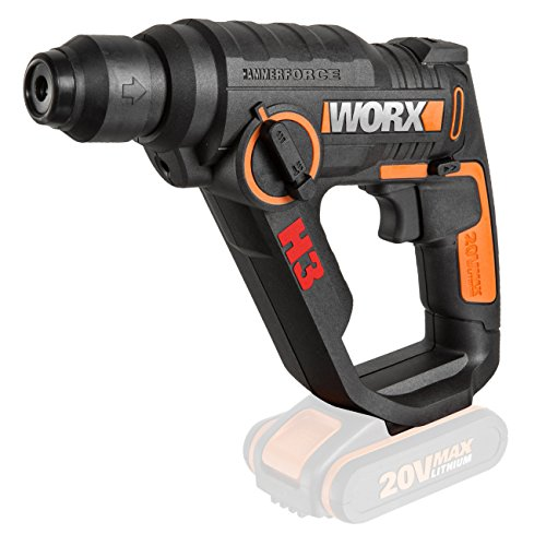 Worx 50Nm, 2-Gang-Getriebe
