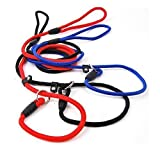 Yosoo 2 Pcs Adjustable Pet Dog Nylon Traction...