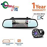 #9: myTVS TRV-37 4.3 inches Rear View Mirror Screen+myTVS TRC-23 Car 8 LED Night Vision Camera