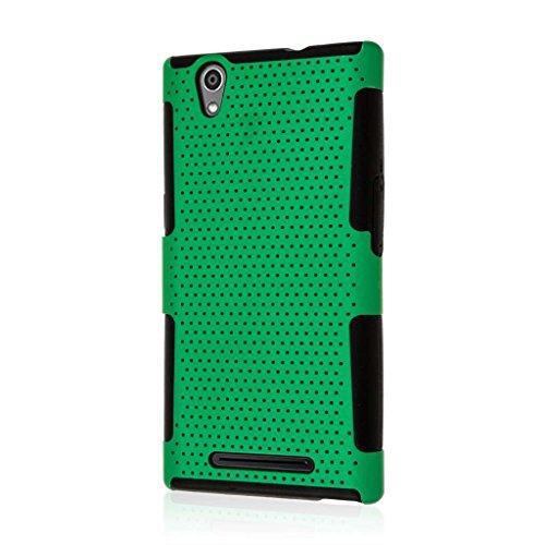 MPERO FUSION M Serie Schutzhülle für ZTE Zmax Z970, neon green Neon Green Fusion