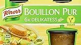 Knorr Bouillon Pur Delikatess Brühe 6 x 500 ml, 4er-Pack