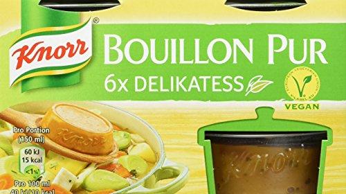 Knorr Bouillon Pur, 4er pack (4 x 168 g)