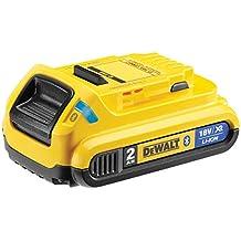 DeWalt DCB183B-XJ - Batería carril XR 18V Li-Ion 2,0Ah con BlueTooth