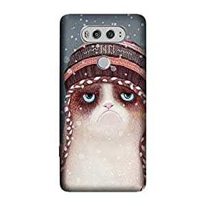 GADGETS WRAP Printed Back cover for LG V20 winter-cat