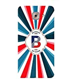 YuBingo Soft Silicone Designer Printed Mobile Back Case Cover For Samsung Galaxy J7 Max | Bold Letter B (Colourful, Stylish And Cool) | UV Printed | Waterproof | Shockproof | Slim | Light