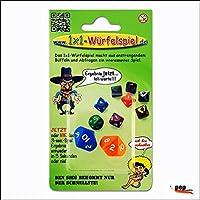 1x1-Würfelspiel: Das 1x1-Würfelspiel macht aus anstrengendem Büffeln und Abfragen ein lustiges Spiel.