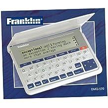 Franklin Collins English Dictionary - Diccionario electrónico con tesauro en inglés, blanco