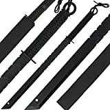 g8ds Black Machete Paracord Outdoor Survival Camping