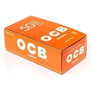 OCB CARTINE ARANCIONI CORTE - 50 LIBRETTI