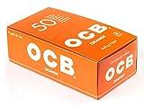 50 libritos de papel Ocb Naranja, formato Nuevo 3000 hojitas.