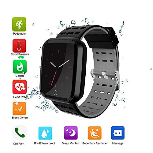 OOPPEN Fitness Tracker Smartwatch Impermeabile IP68 Orologio Fitness...