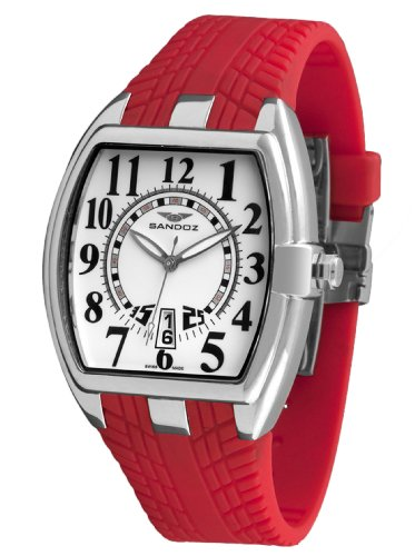 Sandoz 81253-02 – Reloj Fernando Alonso Caballero dial blanco