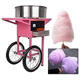 Ridgeyard 1030W 2 ruote uso commerciale Cotton Candy Fairy Floss Maker macchina carrello casa compleanno cucina partito Snack fai da te immagine