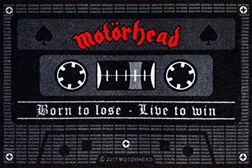 empireposter Motörhead - Tape - Fußmatte, Größe: 60 x 40 cm, Material Polypropylen