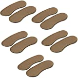 Homgaty 5 Pairs Extra Strong Sticky Fabric Shoe Back Heel Inserts Insoles Pads Cushion Liner Grips Foot Care