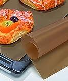 bonsport 3er-Set Dauerbackfolie 40 x 33 cm - Dauerbackpapier mit Teflon Antihaftbeschichtung - Backpapier Wiederverwendbar