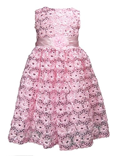 Rare Editions Kleid (Traumhaftes 3D Petticoat Kleid von Rare Editions Gr. 110 Größe 110)