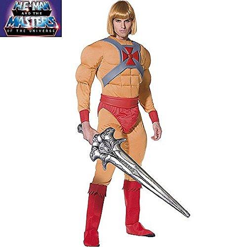 Generique - He-Man Kostüm für Herren (Heman Kostüm)
