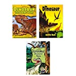 Dinosaur Activity Pack - Massive Value End of Season Sale 3 Book Dinosaur Activity Set - You Get Dinosaur Sticker Book - Dinosaur Colouring Book - Dinosaur Activity Book - Hours of Fun- RRP £10.97 - Yours for Just £2.99 - Less than Half Price!