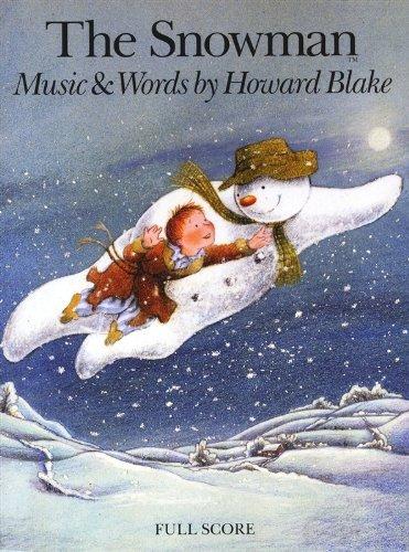 Howard Blake: The Snowman (Full Score). Für Partitur, Orchester, Sopran, Erzählung